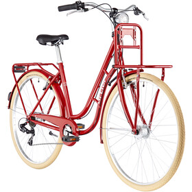 Ortler Detroit EQ Cargo 6-speed, shiny red